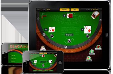 Compresse iPad per portare Giochi Blackjack To You